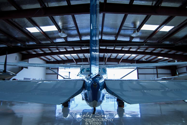 Airplane Hangar Photography