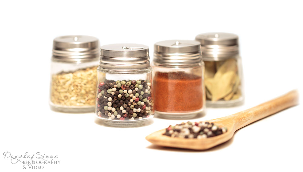 Spice Jars for Product Styling
