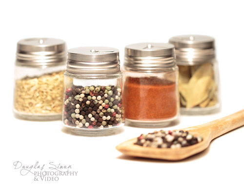 Product Styling using Spice Jars
