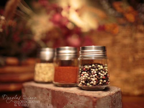 Spice Jars Staged, photography